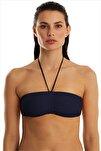 Kadın Lacivert Bikini Üstü 63541