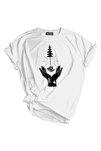 Genıus Store Kadın Tişört Outdoor Baskılı T-shirt
