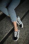 Kadın Siyah Günlük Spor Ayakkabı Vesp