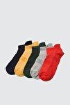 Lacivert 5'li Paket Spor Çorap Çorap TWOAW20CO0011