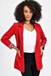 Kadın Kırmızı Ceket 37000