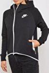 Kadın Sweatshirt W Nsw Tch Flc Cape Fz - 930757-011