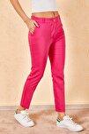 Kadın Kalem Fuşya Pantolon