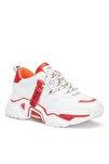 Kırmızı Kadın Sneaker
