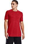 Erkek Spor T-Shirt - Ua Seamless Logo Ss - 1356798-608