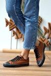 Kadın Taba Nubuk Ayakkabı