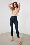 Indigo Yüksek Bel Skinny Jeans TWOAW21JE0794