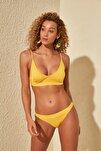 Sarı Düşük Bel Bikini Altı TBESS20BA0204