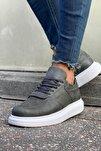 Erkek Gri Sneaker Ayakkabı Ch073