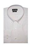Erkek Beyaz Regular Fit Klasik Gömlek