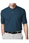 Erkek Marin Modern Fit Polo Yaka T-shirt
