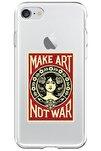 Iphone 7 Lansman Make Art Desenli Telefon Kılıfı