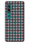 Ethnic Culture (92) Xiaomi Mi Note 10 Kılıf Silikon Kapak Desenli