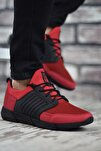 Kırmızı Sportz Erkek Sneaker