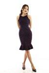 Kadın Mor Elbise 130136-10