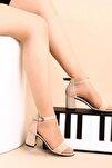 Ten Süet Kadın Topuklu Ayakkabı 2013-05-1604