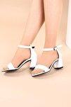 Beyaz Kadın Topuklu Ayakkabı 2013-05-1604