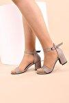 Taş Lazerli Kadın Topuklu Ayakkabı 2013-05-1604