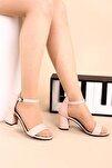 Pudra Kadın Topuklu Ayakkabı 2013-05-1604