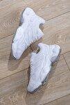 Kadın Spor Ayakkabı Beyaz Cilt Tb246 -> 36 -> Beyaz Cilt
