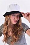 Kadın Beyaz-Siyah Şapka ŞPK507 - AKS ADX-0000021483
