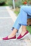 Kadın Bordo Ayakkabı