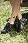 Siyah Kadın Spor Ayakkabı 4000-19-101003
