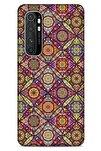 Ethnic Culture (96) Xiaomi Mi Note 10 Lite Kılıf Silikon Kapak