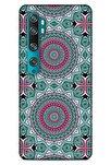 Ethnic Culture (7) Xiaomi Mi Note 10 Kılıf Silikon Kapak Desenli