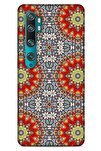 Ethnic Culture (6) Xiaomi Mi Note 10 Kılıf Silikon Kapak Desenli