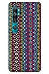 Ethnic Culture (95) Xiaomi Mi Note 10 Pro Kılıf Silikon Kapak Desenli