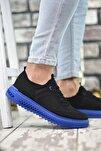 Siyah Mavi Erkek Sneaker Rcng12504