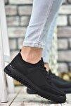 Siyah Siyah Erkek Sneaker Rcng12504
