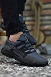 Gri Erkek Sneaker 0012SANTO