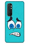 Emojix (4) Xiaomi Mi Note 10 Lite Kılıf Silikon Kapak Desenli