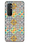 Ethnic Culture Xiaomi Mi Note 10 Lite Silikon Kapak Desenli Kılıf