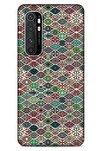 Ethnic Culture (3) Xiaomi Mi Note 10 Lite Kılıf Silikon Kapak Desenli