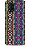 Ethnic Culture (95) Xiaomi Mi 10 Lite Silikon Kapak Desenli Kılıf