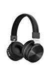 Xb240 Profesyonel Kulaklık, Mikrofonlu Gaming Kulaklık, Bluetooth 5.0, Kablosuz Kulaküstü Kulaklık