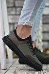 Haki Yeşili Erkek Sneaker Rcng12504