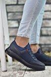 Lacivert Erkek Sneaker Rcng12504