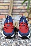Unisex Lacivert Bağçıklı Sneaker 0012072