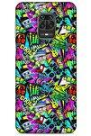 Graffitix (9) Desenli Silikon Kapak Xiaomi Redmi Note 9 Pro Kılıf