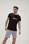 Bad Erkek Baskılı Tişört 20.01.07.025