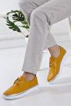 Bayan Hardal Kapitone Oxford Ayakkabı Oxkptne584235000