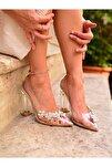 ALEXİX GZL ten topuklu ayakkabı