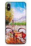 Cityx (30) Iphone Xs Max Uyumlu Silikon Kapak Desenli Kılıf