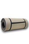 Gri- Siyah 16 Mm Pilates Matı