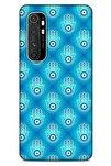 Nazarium (7) Desenli Silikon Kapak Xiaomi Mi Note 10 Lite Kılıf