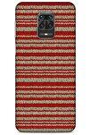 Kazak (6) Desenli Silikon Kapak Xiaomi Redmi Note 9 Pro Kılıf
